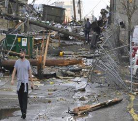 'Felt like a train hit': Tornadoes kill at least 25 in Tennessee