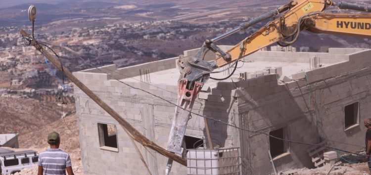UN: Israel has demolished over 500 Palestinian buildings so far this year