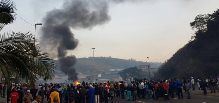 Protesters wreak havoc in Tshwane