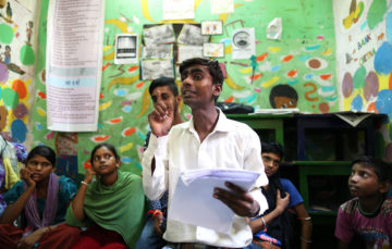 India's street kids making it happen