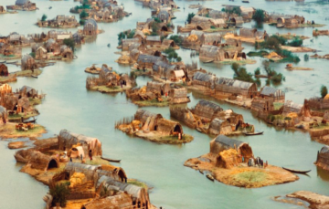 The Floating Basket Homes of Iraq