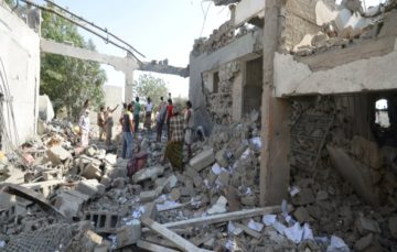 Yemen: dozens killed as prison facility bombed