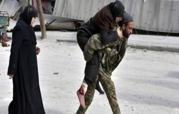 Message from Aleppo: 'Tomorrow will be too late for us'