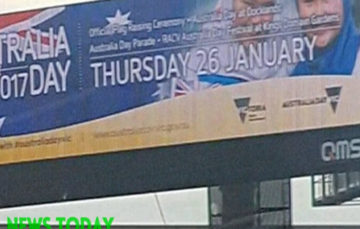 Australia Day Muslim themed billboard removed after threats