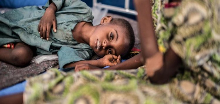 90,000 children are expected to die in Nigeria over the next 12 months, Unicef warns