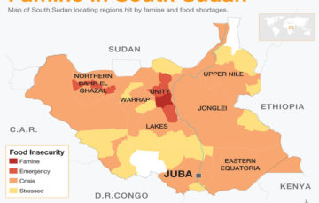 South Sudan famine: Families eat water lilies to survive