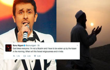 Indian singer slammed online for saying Muslim Adhan is 'forced religiousness'