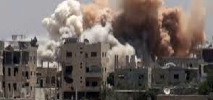 Air strikes pound southwest Syrian city of Deraa as two- day ceasefire expires