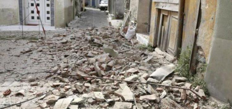 Magnitude 6.3 seismic shock strikes western coast and large Greek island