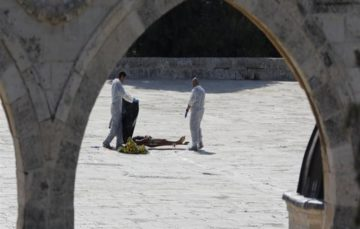 Masjid Al Aqsa closed for Jumuah prayers following shooting of 3 Palestinians by Israeli police