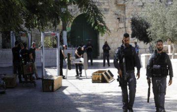 Israel tightens grip on al-Aqsa, increasing calls for protest