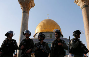 Tensions high as Israel police bar men under 50 from Friday prayers at Al Aqsa mosque