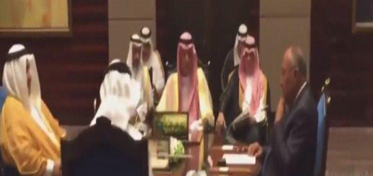 Four Arab countries boycotting Qatar meet in Bahrain to reiterate demand that Doha 'stops funding terror'