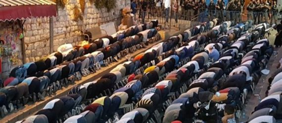 Religious leaders call on Palestinians in Jerusalem to pray Jumuah Salaah at Masjid Al Aqsa