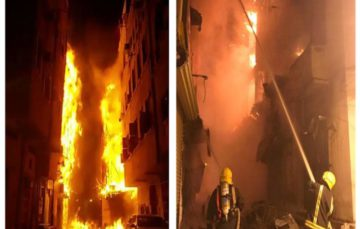 Fire damages six buildings in Jeddah's historic center