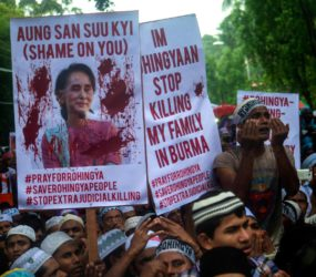 Amnesty International: Aung San Suu Kyi 'burying her head in the sand' over Burma's 'ethnic cleansing' of Rohingya