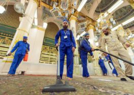 KSA's role in disseminating moderation exhibited at KAIA terminals, clean-up of Makkah underway