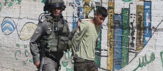 Israel soldiers shot Palestinian child, ban mother sitting by his bed
