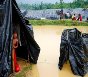 Aid group warns 600,000 Rohingya children could flee to Bangladesh