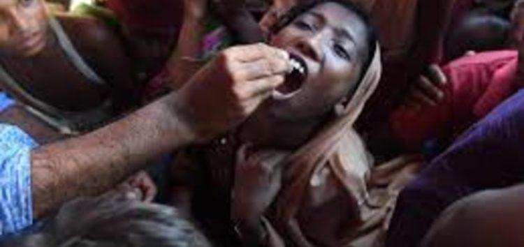 Massive vaccination campaign kicks off in Rohingya camp to ward off cholera