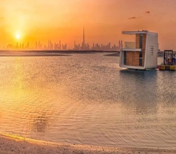 World's first floating kitchen will serve customers out at sea