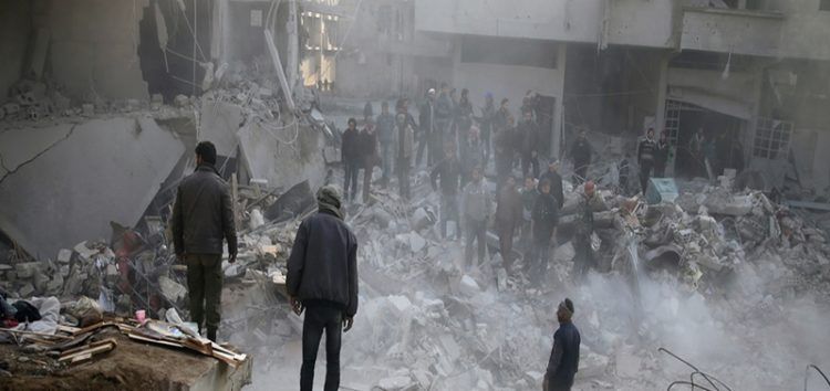 Airstrikes hit hospital, 3 mosques in Syria's Idlib