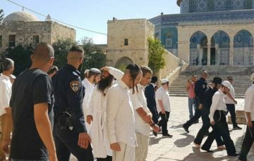 Palestinians reject plans to hold Jewish prayers at Al-Aqsa Gates
