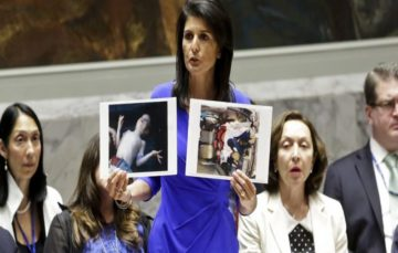 US blames UN for the spike in chemical weapons attacks