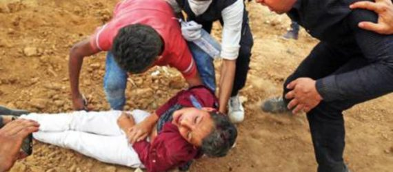Palestinian teen, Mohamed Ayoub was buried in the same cemetery in which he played