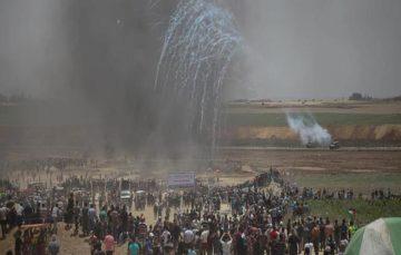 Gazans maintain rallies near Israel fence, despite the risk