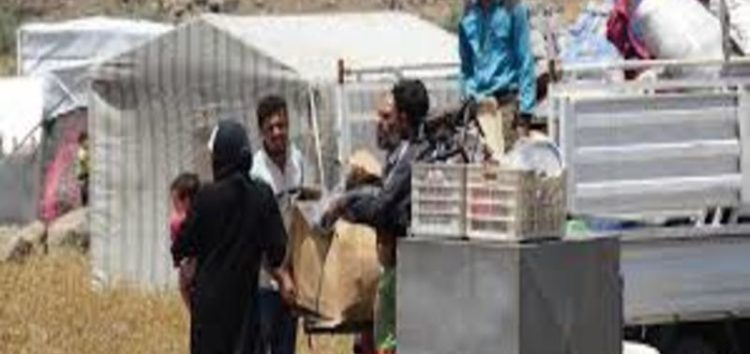 Number of Syrians fleeing Daraa reaches 270,000