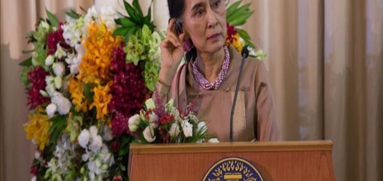 UN Chief:Myanmar leader Aung San Suu Kyi 'should have resigned'