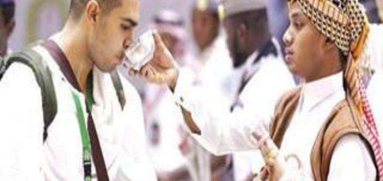 Hujjaj consume eight million liters of Zamzam water thus far