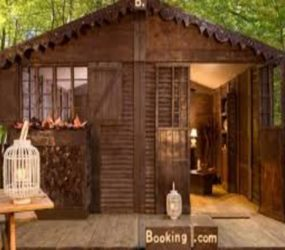Chocolate lovers can now spend a night in a cottage made of chocolate