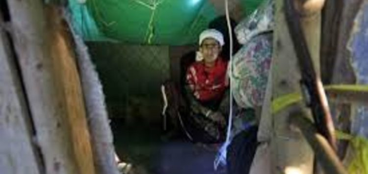 War and poverty force destitute Yemeni to build home in a tree