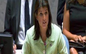 Nikki Haley resigns as US ambassador,denies 2020 ambitions