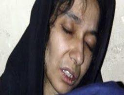Pakistan raises issue of jailed Aafia with US
