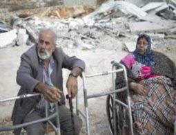 Sick, elderly woman homeless as Israel demolishes her home