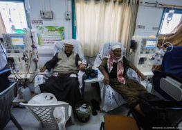 Some 1,250 patients in Gaza hospitals at risk of blindness