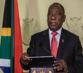 President Ramaphosa announces new cabinet