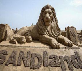 Turkish beach unveils 200 sand sculptures
