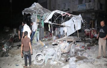 Regime attacks kill 12 in Syria's de-escalation zones