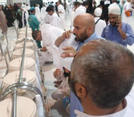 Grand Mosque has 10,000 new containers for Zamzam