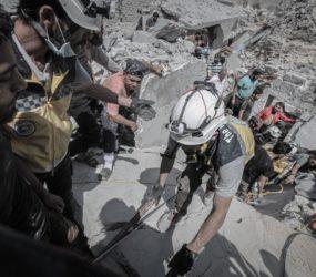UN: 17 Idlib villages destroyed in regime offensive