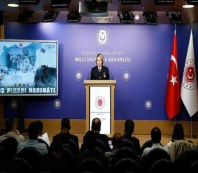 Turkey destroys 40 mines, 227 explosives in N. Syria