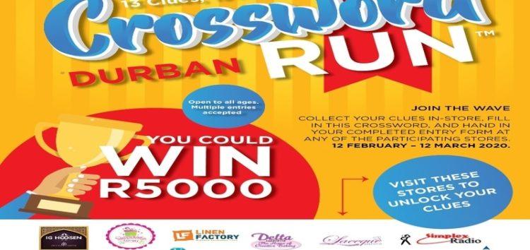 Crossword run 2020 #Durban