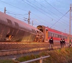 Two killed as high-speed train derails in Italy, dozens injured