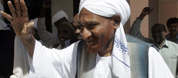Sudan's Al-Mahdi: 'Normalisation with Israeli occupation is an act of betrayal'