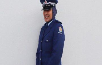 New Zealand Police introduce hijab to uniform