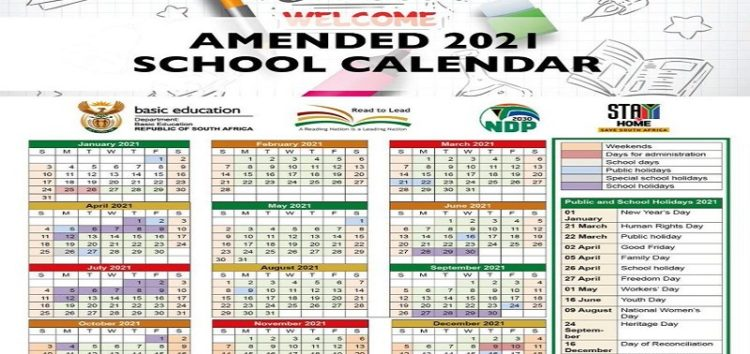 Department of Education approves school terms for South African 2021 academic year